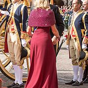 NLD/Den Haag/20190917 - Prinsjesdag 2019,  japon van Jan Taminiau heeft Koningin Maxima aan vandaag