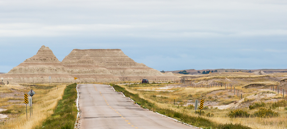 Badlands Highway, on the road to Wounded Knee.