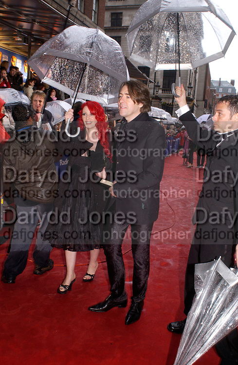 Jane Goldman and Jonathan Ross, 50th Annual Bafta television awards, Grosvenor House. London. 18 April 2004. ONE TIME USE ONLY - DO NOT ARCHIVE  © Copyright Photograph by Dafydd Jones 66 Stockwell Park Rd. London SW9 0DA Tel 020 7733 0108 www.dafjones.com