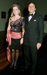 The HON.SIR ROCCO & LADY FORTE at a dinner in London on 1st July 1997.<br /> LZW 81