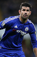 Diego Costa of Chelsea in action. Barclays Premier league match, Chelsea v AFC Bournemouth at Stamford Bridge in London on Saturday 5th December 2015.<br /> pic by John Patrick Fletcher, Andrew Orchard sports photography.