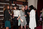 JEMIMA KHAN; BELLA FREUD; SUSY BOYT; DAVID GILMOUR POLLY SAMSON, , Freud Museum dinner, Maresfield Gardens. 16 June 2011. <br /> <br />  , -DO NOT ARCHIVE-© Copyright Photograph by Dafydd Jones. 248 Clapham Rd. London SW9 0PZ. Tel 0207 820 0771. www.dafjones.com.