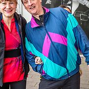 NLD/Rotterdam/20170319 - inloop De Marathon de Musical, Martin van Waardenberg en partner