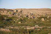 Rocky rural landscape of the Burren, Fanore, County Clare, Ireland