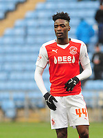 Fleetwood Town's Devante Cole<br /> <br /> Photographer Andrew Vaughan/CameraSport<br /> <br /> Football - The Football League Sky Bet League One - Coventry City v Fleetwood Town - Saturday 27th February 2016 - Ricoh Stadium - Coventry   <br /> <br /> © CameraSport - 43 Linden Ave. Countesthorpe. Leicester. England. LE8 5PG - Tel: +44 (0) 116 277 4147 - admin@camerasport.com - www.camerasport.com