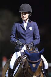 WELLINGTION, FL - FEBRUARY 10: SATURDAY NIGHT LIGHTS – $384,000 FIDELITY INVESTMENTS® GRAND PRIX CSI 5*.Jessica Rae Springsteen Competes at The Winter Equestrian Festival (WEF) is the largest, longest running hunter/jumper equestrian event in the world held at the Palm Beach International Equestrian Center. .Jessica is the second child and only daughter of Bruce Springsteen and Patti Scialfa on February 10, 2018 in Wellington, Florida. CAP/MPI122 ©MPI122/Capital Pictures. 10 Feb 2018 Pictured: Jessica Rae Springsteen. Photo credit: MPI122/Capital Pictures / MEGA TheMegaAgency.com +1 888 505 6342