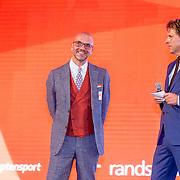 NLD/Scheveningen/20160713 - Perspresentatie sporters voor de Olympische Spelen 2016 in Rio de Janeiro, Andre Katz en Twan van Peperstraten