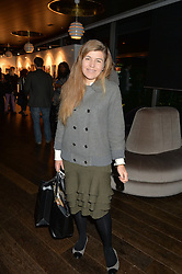 AMBER NUTTALL at a party to celebrate the Astley Clarke & Theirworld Charitable Partnership held at Mondrian London, Upper Ground, London on 10th March 2015.