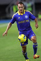 BILDET INNGÅR IKKE I FASTAVTALENE MEN MÅ KJØPES SEPARAT<br /> <br /> Fotball<br /> Foto: imago/Digitalsport<br /> NORWAY ONLY<br /> <br /> 25.07.2012<br /> Skopje (Former Yugoslav Republic Macedonia) FK Vardar-FK Bate Borisov UEFA Champions League qualifying 2nd leg <br /> <br /> Alyaksandar Yurevich FK Bate Borisov