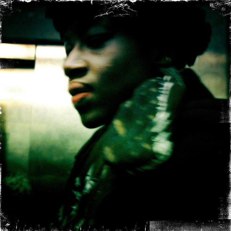 Paris, France. January 31st 2012.In the parisian subway