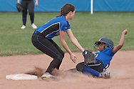 Middletown, New York - Middletown plays Valley Central in a varsity girls' softball game on n April 25, 2014.