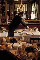 Maitre d'Hôtel Christian David of the restaurant le Grand Vefour, Paris - Photograph by Owen Franken