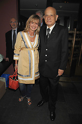 NAIM ATTALLAH and COUNTESS MAYA VON SCHONBURG at a party to celebrate the publication of Nain Attallah's book'Fulfilment & Betrayal' held at The Bluebird, King's Road, London on 1st May 2007.<br />
