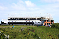 A general view as fans arrive at the Stadium of Light  - Mandatory by-line: Matt McNulty/JMP - 27/05/2016 - FOOTBALL - Stadium of Light - Sunderland, United Kingdom - England v Australia - International Friendly