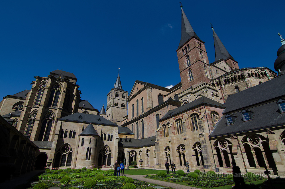 Cloister of the Cathedral of Trier, the oldest church in Germany and since 1986 part of UNESCO World Heritage.