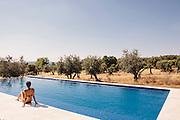 Swimming pool at Villa Extramuros, Horta do Chaveiro, Arraoilos > villaextramuros.com