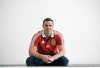 3 June 2013; Tommy Bowe, British & Irish Lions, following the team announcement ahead of their game against Western Force, on Wednesday. British & Irish Lions Tour 2013, Team Announcement, River Room, Perth Conference & Exhibition Centre, Perth, Australia. Picture credit: Stephen McCarthy / SPORTSFILE