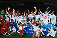 Das Team von SC Internacional jubelt mit dem Pokal (SWITZERLAND ONLY) © Masakazu Watanabe/Aflo/EQ Images
