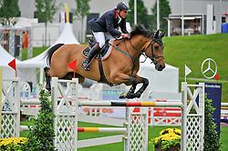 Stockdale Tim (GBR) - Corlando of Cavallini<br /> CSIO Sankt Gallen 2012<br /> © Hippo Foto - Katja Stuppia