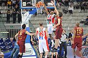DESCRIZIONE : Torino Coppa Italia Final Eight 2012 Quarti Di Finale Scavolini Siviglia Pesaro Umana Venezia<br /> GIOCATORE : Richard Hickman<br /> CATEGORIA : tiro schiacciata<br /> SQUADRA : Scavolini Siviglia Pesaro<br /> EVENTO : Suisse Gas Basket Coppa Italia Final Eight 2012<br /> GARA : Scavolini Siviglia Pesaro Umana Venezia<br /> DATA : 17/02/2012<br /> SPORT : Pallacanestro<br /> AUTORE : Agenzia Ciamillo-Castoria/C.De Massis<br /> Galleria : Final Eight Coppa Italia 2012<br /> Fotonotizia : Torino Coppa Italia Final Eight 2012 Quarti Di Finale Scavolini Siviglia Pesaro Umana Venezia<br /> Predefinita :