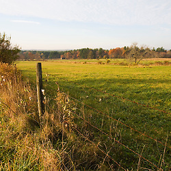 The Surrenden Farm in fall in Groton, MA.