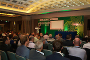 A stimulating Business Diary Date: 29th September to 1st October, Burlington Hotel Dublin – Irish Pubs Global Gathering Event.<br /><br />Pictured at the event- <br /> Enda O'Coineen, Irish Pubs Global<br /><br />•                     21 Countries represented<br />•                     Over 600 Irish Pub Enterprises from around the world<br />•                     The growth of Craft Beers<br />•                     Industry Experts<br />•                     Bord Bia – an export opportunity<br />•                     Transforming a Wet Pub into a Gastro Pub<br /><br />We love our Irish pubs but we of course have seen an indigineous decline resulting in closures nationwide in recent years.<br />Not such a picture worldwide where the Irish pub is a growing business success story.<br />Hence a global event and webcast in Dublin next week, called Irish Pubs Global Gathering Event  in the Burlington Hotel, Dublin, on September 29 to October 1st, backed by LVA and VFI.<br />Spurred on by The Irish Diaspora Global Forum in Dublin Castle 2 years ago, Irish entrepreneur Enda O Coineen has spearheaded www.irishpubsglobal.com into a global network with 20 chapters around the world and a database of over 4,000 REAL Irish pubs.<br />It promises to be a stimulating conference, with speakers bringing a worldwide perspective to the event. The Irish Pubs Global Gathering Event is a unique networking, learning and social gathering. A dynamic three-day programme bringing together Irish Pub owners & managers from all over the world and will focus on 'The Next Generation' of Irish pubs.<br /> <br />Key Note Speakers available for Interview<br />1.       Paul Mangiamele, CEO Bennigans<br />2.      Dr. Pearse Lyons, CEO ALLTECH<br />3.      Enda O Coineen, President of Irish Pubs Global<br />4.      Kingsley Aikins, CEO of Diaspora Matters<br /><br />Paul Mangiamele, CEO Bennigans<br />Paul M. Mangiamele is a veteran restaurant and retailing executive who joined Bennigan's Franchising Co