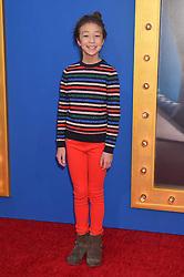 Aubrey Anderson-Emmons bei der Premiere von Sing in Los Angeles / 031216