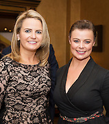 Lorraine Higgins and Margaret Monaghan Craughwell at the Gorta Self Help Africa Annual Ball in Hotel Meyrick Galway City. Photo: Andrew Downes, XPOSURE.
