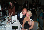 KASPAR HOLZ; TRICIA MACLEOD, Game & Wildlife Conservation Trust's Ball. Savoy Hotel. London. 6 November 2013.