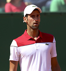 April 19, 2018 - Monaco - Tennis - ATP- Monaco - Monte Carlo, Monte  Carlo country club, Rolex Monte - Carlo Masters 2018, 19 avril 2018..Le serbe Novak Djokovic  (Credit Image: © Panoramic via ZUMA Press)