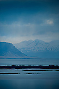 Landscape photos from various locations in the western part of Iceland.