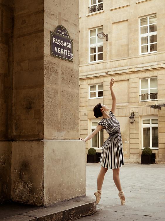 Ballet dancer in Paris France, OLYMPUS DIGITAL CAMERA