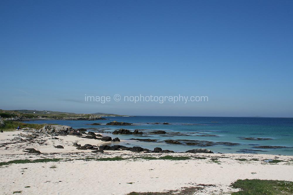 beach in Connemara County Galway Ireland