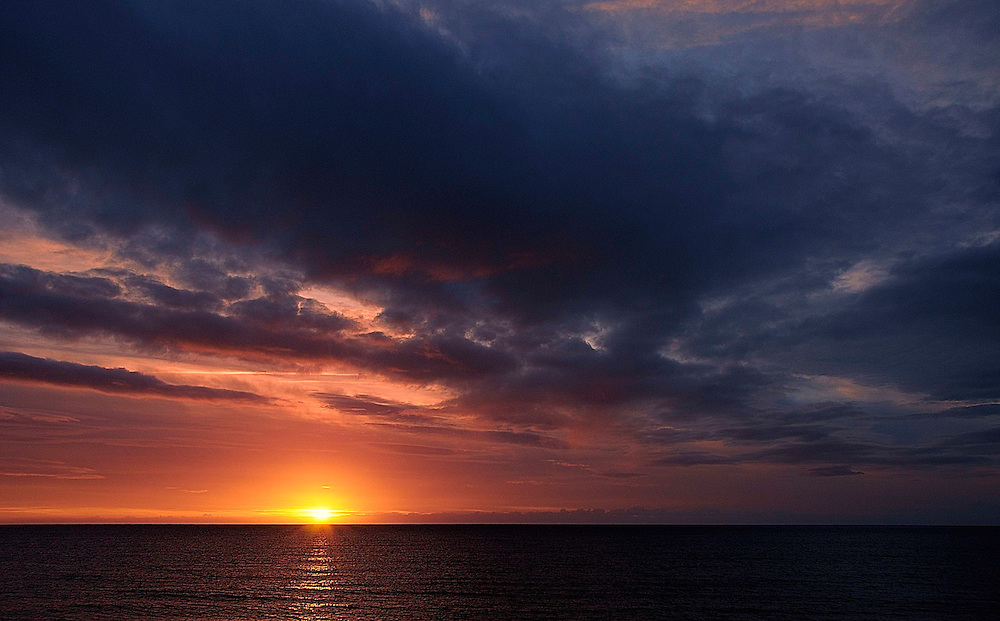 Sunrise from Bray Harbour, Co.Wicklow.