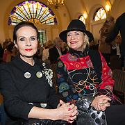 NLD/Heemstede/20151116 - Boekpresentatie De Zin van het Leven,Vivian Boelen en Ans Markus