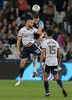 Football - 2017 / 2018 EFL (League) Cup - Third Round: West Ham United vs. Bolton Wanderers<br /> <br /> Aaron Wilbraham (Bolton Wanderers) comes under pressure from Declan Rice (West Ham United) at the London Stadium.<br /> <br /> <br /> COLORSPORT/DANIEL BEARHAM