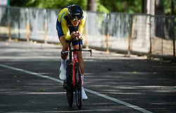 LUDVIGSSON Tobias  of Sweden competes during Men Time Trial at UCI Road World Championship 2020, on September 24, 2020 in Imola, Italy. Photo by Vid Ponikvar / Sportida