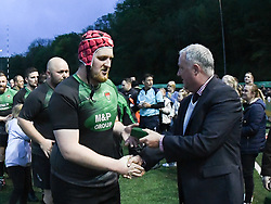 Cambrian Welfare v Gilfach Goch<br /> <br /> Photographer Mike Jones / Replay Images<br /> Mid District Bowl Final<br /> Sardis Road, Pontypridd.<br /> Wales - 11th May 2018.<br /> <br /> <br /> World Copyright © Replay Images . All rights reserved. info@replayimages.co.uk - http://replayimages.co.uk