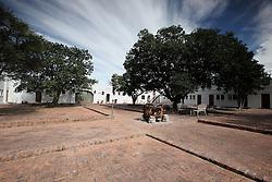 NAMIBIA ETOSHA 1MAY14 - Namutoni Fort, a resort run by Namibia Wildlife Resots inside the Etosha National Park, Namibia.<br /> <br /> <br /> <br /> jre/Photo by Jiri Rezac<br /> <br /> <br /> <br /> © Jiri Rezac 2014