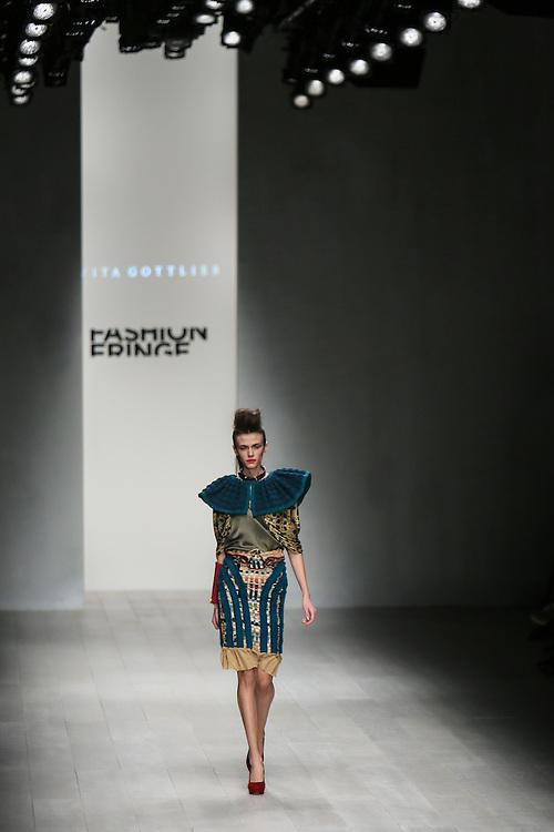 Fashion Fringe Vita Gottlieb show during London Fashion Week, Spring/Summer 2013