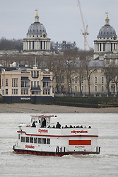 © Licensed to London News Pictures.19/03/2017.London, UK. An ant-terrorist training exercise  takes place on The River Thames in  London. It is the first time that an exercise of this type has taken place on the river.Photo credit: Peter Macdiarmid/LNP