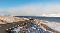 THEMENBILD - Steinadalsvegur Dalabyggoe, Groenlandsee, aufgenommen am 23. Oktober 2019 in Island // Klofningsvegur  Dalabyggo, Iceland on 2019/10/23. EXPA Pictures © 2019, PhotoCredit: EXPA/ Peter Rinderer