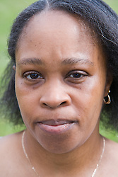 Portrait of a woman,