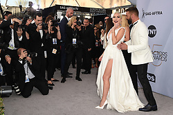 Lady Gaga and Ricky Martin attend the 25th Annual Screen Actors Guild Awards at The Shrine Auditorium on January 27, 2019 in Los Angeles, CA, USA. Photo by Lionel Hahn/ABACAPRESS.COM
