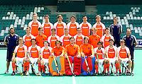 ROTTERDAM -TEAMFOTO van Jong Oranje Heren. Foto KOEN SUYK