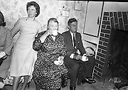 Kennedy in Ireland - with Relatives in Dunganstown.26.06.1963.<br /> Kennedy family reunion will take place in Wexford, to celebrate the 50th anniversary of President John F Kennedy's visit to Ireland.
