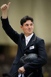 Guerdat Steve (SUI)<br /> Rolex FEI World Cup Final - Geneve 2010<br /> © Dirk Caremans