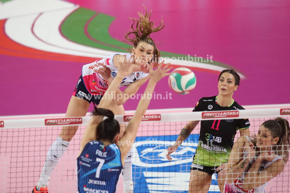 HERBOTS BRITT (NOVARA)<br /> FINAL FOUR COPPA ITALIA PALLAVOLO FEMMINILE<br /> RIMINI 14-03-2021<br /> FOTO FILIPPO RUBIN / LVF