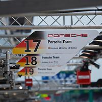 #17 #18 #19 Porsche 919 Hybrid, Porsche Team at Le Mans 24H, 2015