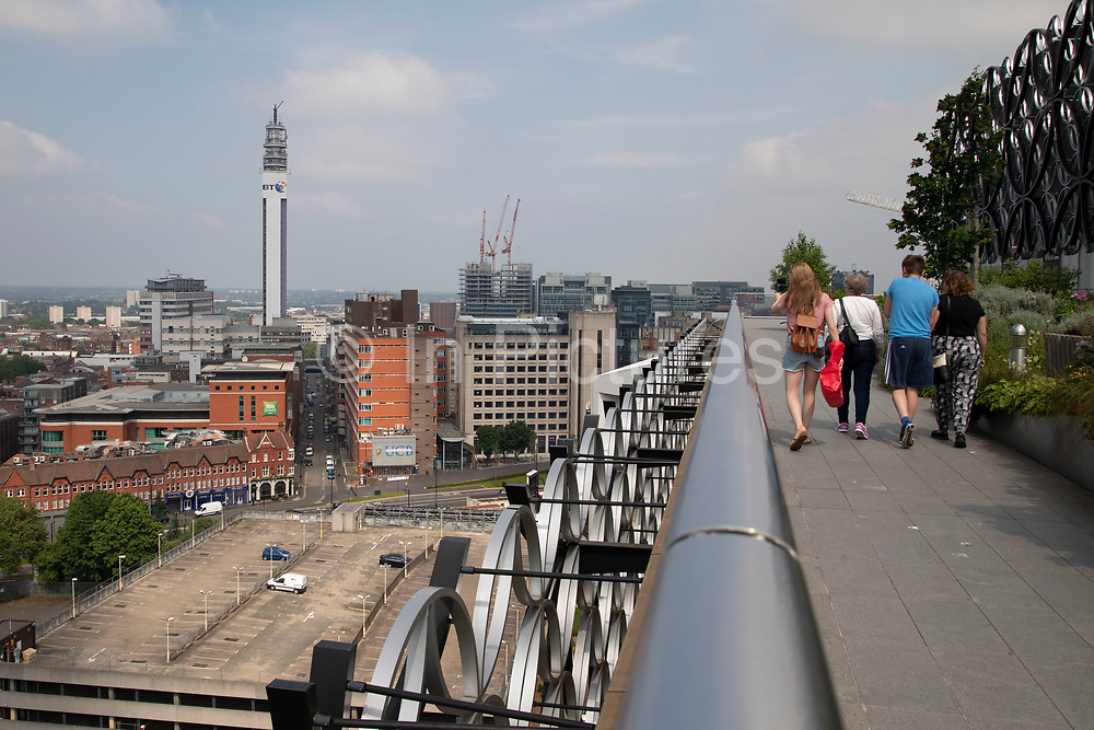 View towards the Jewellery Quarter from Birmingham Central Library in Birmingham, United Kingdom. Paradise, formerly named Paradise Circus, is the name given to an area of approximately 7 hectares in Birmingham city centre between Chamberlain and Centenary Squares. The area has been part of the civic centre of Birmingham since the 19th century. From 2015 Argent Group will redevelop the area into new mixed use buildings and public squares.